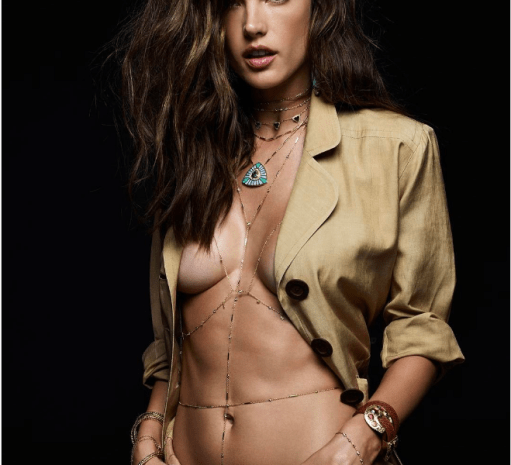 Alessandra Ambrosio's Ad For Jewelry is as Racy as the Daytona 500