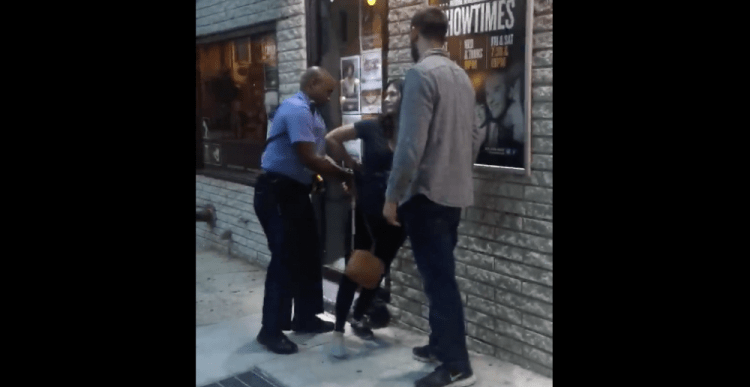 Obnoxious Liberal Reporter Verbally and Physically Assaults Comedy Club Employees and Cop [VIDEO]