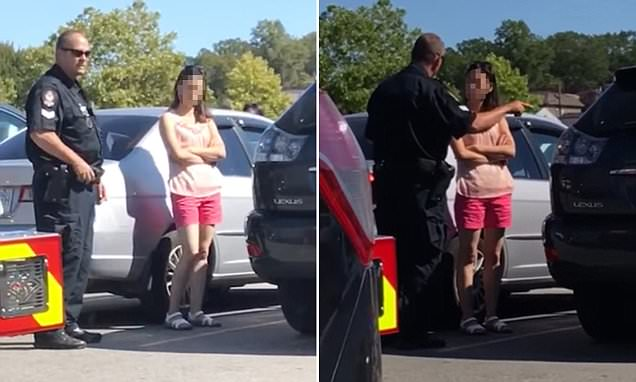 Cop Gives Mother HUGE Dose OF Reality, After Seeing Children Left In Sweltering Car [WATCH]