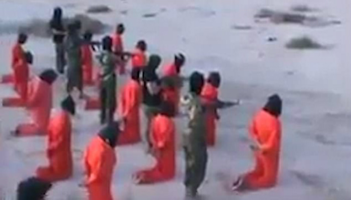 Graphic Footage Shows 18 Blindfolded 'ISIS fighters' Executed At Point Blank Range [GRAPHIC VIDEO]