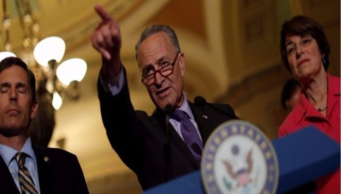Here's Who Schumer Blames For Losing The Election — It's NOT Russia