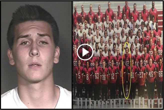 Senior Faces 72 Charges After Prank He Plays In Team Photo Goes Viral And Cops See It