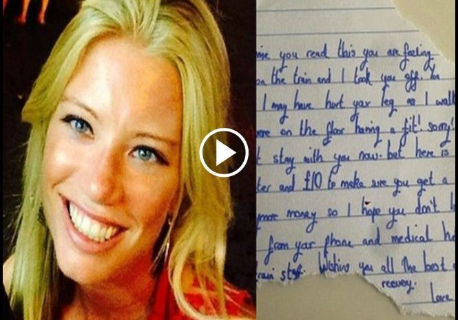 Woman Wakes Up At Train Station With Note & 2 Items Left By A Stranger [VIDEO]