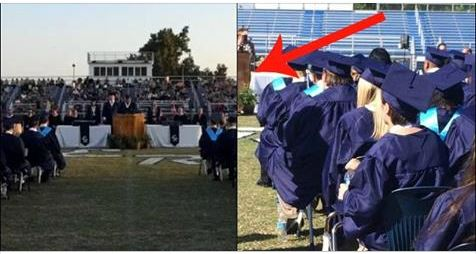 Oklahoma Graduation Ceremony Pic Goes Viral As Viewers Quickly Discover The Reason