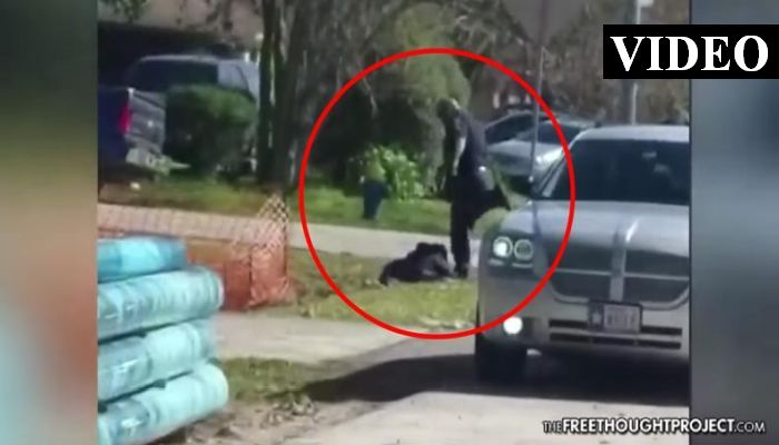 Officer Indicted As Video Shows Him Kick, Stomp Incapacitated Man He Just Shot