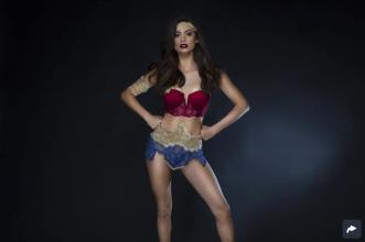 Amazonian Superhero Fantasy Lingerie Costume ($38)