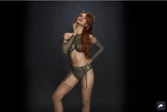 Venomous Ivy Fantasy Lingerie Costume ($44)