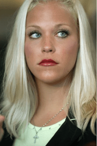 Debra Lafave created a media frenzy with her stunning looks; she was a model before becoming a teacher. She had a lustful affair with a 14-year-old boy and was set to go to jail. The boy's family wanted to avoid revealing his identity to the public, so let her plea bargain for three years of house arrest, seven years probation and registering as a sex offender.
