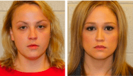 Shelley, on the right, started hooking up with a 16-year-old boy from the school she taught at. She liked him so much that she decided to share him with her friend and fellow teacher, Rachel. They had a threesome that lasted an estimated nine hours. The boy started bragging to his buddies about it, which led to the pair getting busted. They received slaps on the wrist because Shelley's dad is a local judge.