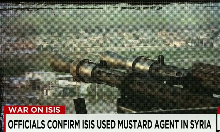 Experts Warn Of Bio-chemical Attacks As ISIS Collapses