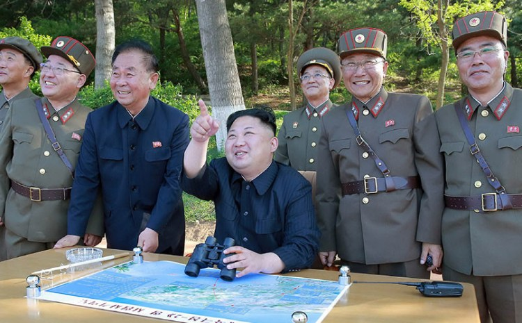 Kim Warns He Will 'Turn Self-destructive US Into Ash Pile'