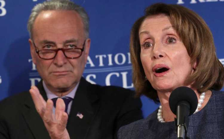 Pelosi And Schumer CAUGHT ONCE AGAIN Showing Their TRUE COLORS