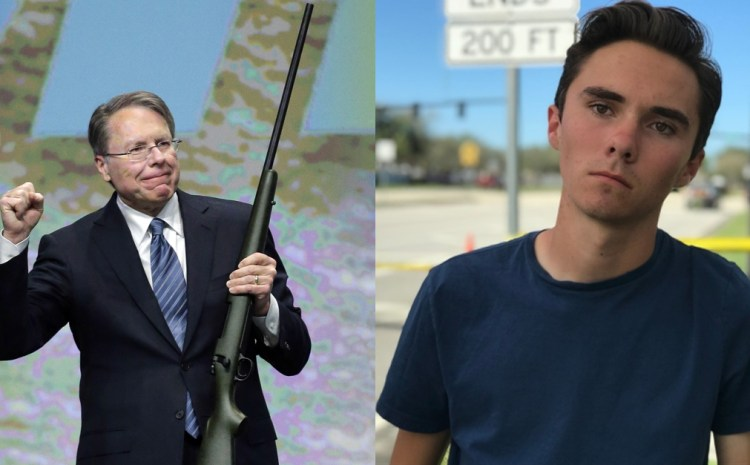 BULLSEYE: The NRA Just Put David Hogg Right In His Place!