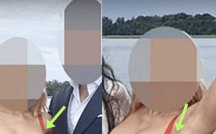 Wedding Guest Accused Of 'Upstaging The Bride' Over Very 'Revealing' Dress [PHOTO]