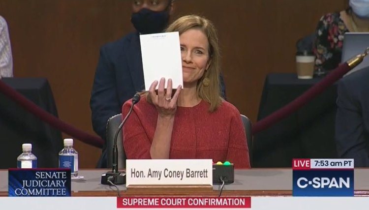 HA! Senate Will Vote to Confirm Amy Coney Barrett to Supreme Court on Hillary Clinton's Birthday