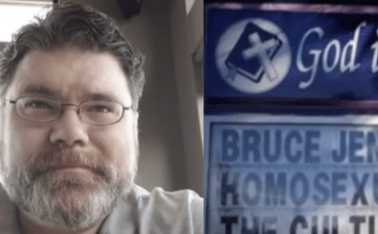 Pastor Allegedly Loses His Job Over 'Controversial' Sign That Sparked Uproar