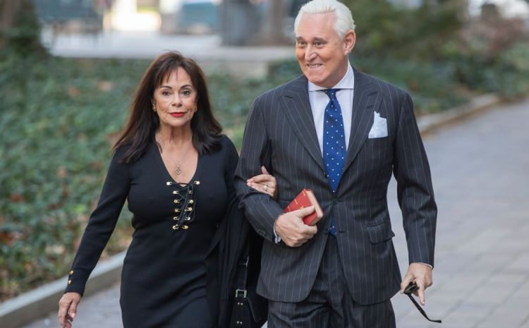Roger Stone's WIFE Ambushed In Sickening Attack!