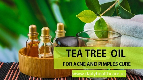acne skin diseases solution, tea tree oil