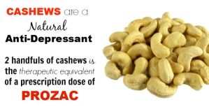 Cashew Nutrition: Absolute the Best Natural Treatment for Depression