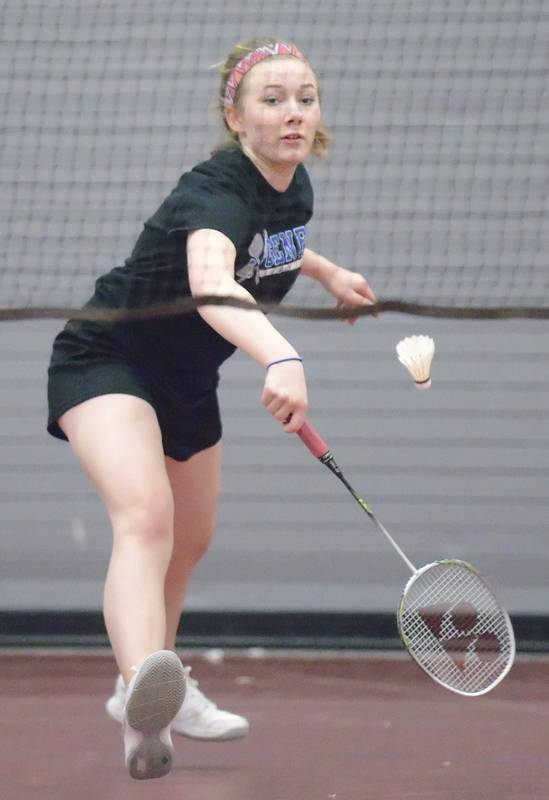 Cara Backhand Badminton : backhand, badminton, Aurora, Badminton