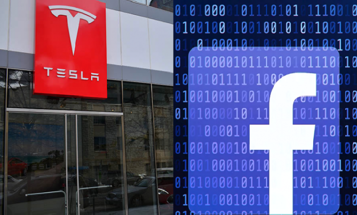 Facebook And Tesla's Shares