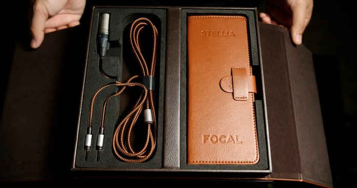 Focal Stellia Cables and Leather Pouch