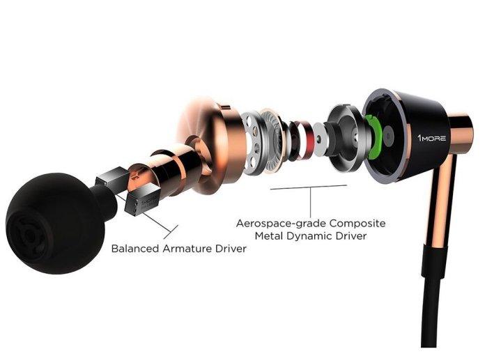 1More Triple Driver IEM Armatures