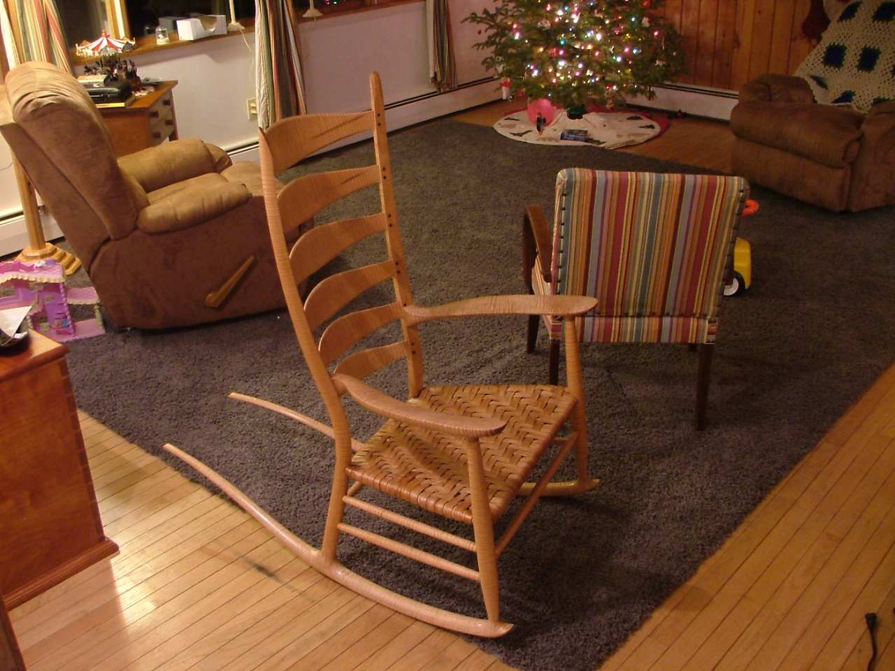 Sam Maloof Rocking Chair Plans Hal Taylor PDF Woodworking