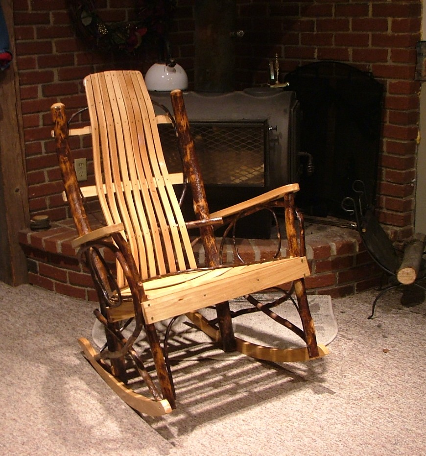 building a rocking chair mint green dining build plans maloof diy tv cabinet woodworking
