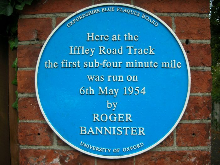 Iffley_Road_Track,_Oxford_-_blue_plaque