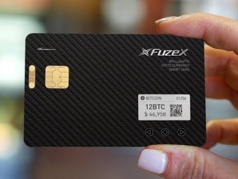 Cryptocurrency wallet dicover card