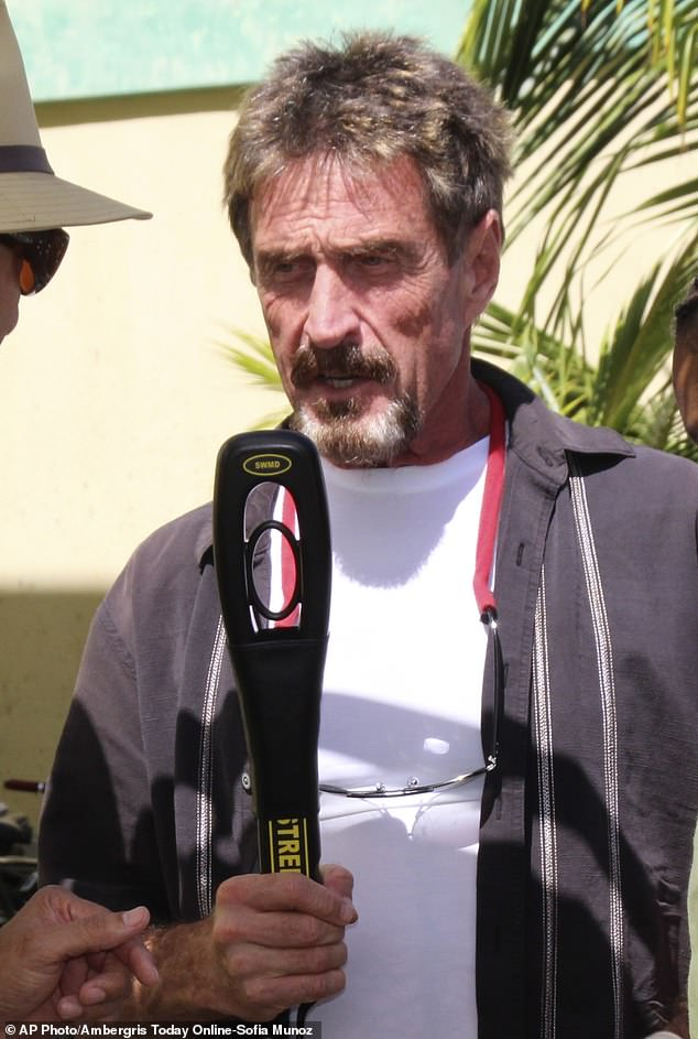 John McAfee, A Cryptocurrency Enthusiast, To Run For US Presidency Despite IRA Chase