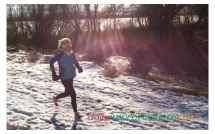 Running Barefoot Snow