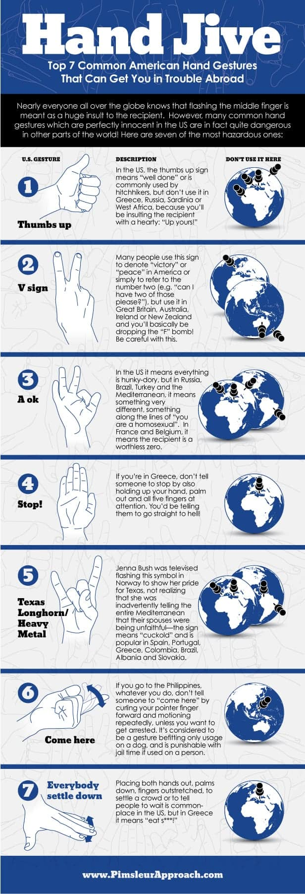 Hand Jive Daily Infographic