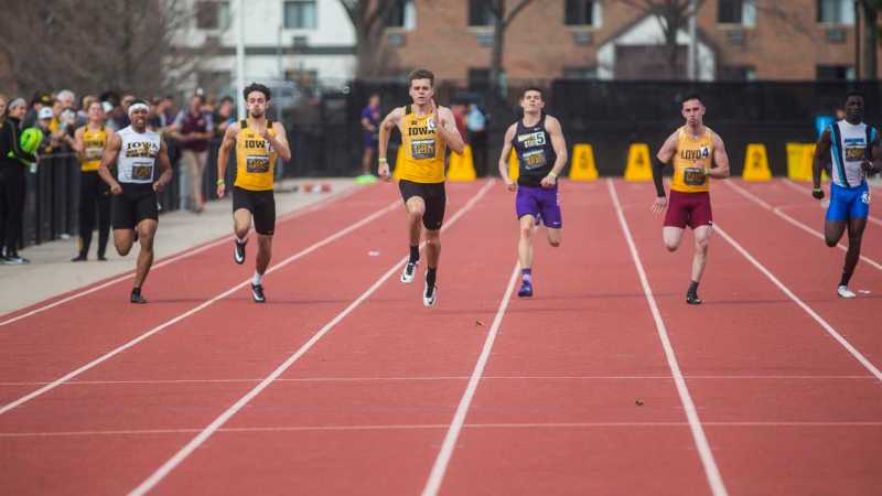 By the Numbers: Men's track and field