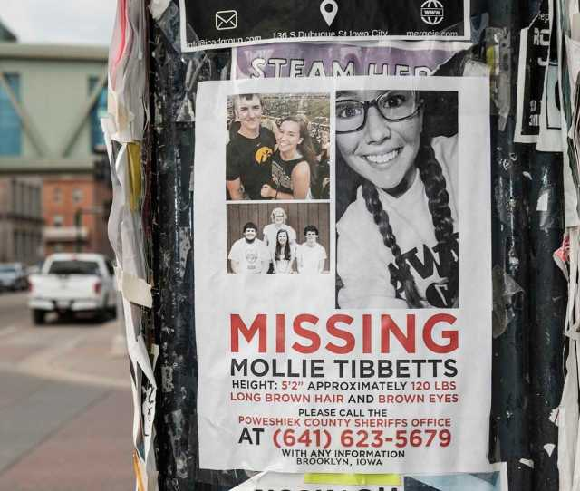 Missing Ui Student Mollie Tibbetts Found Dead Reports Say