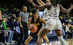 Turnovers prove detrimental to Hawkeyes in loss to Irish