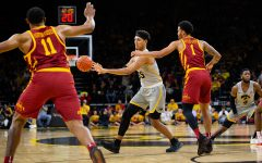 Iowa shows fight in feisty win over Iowa State