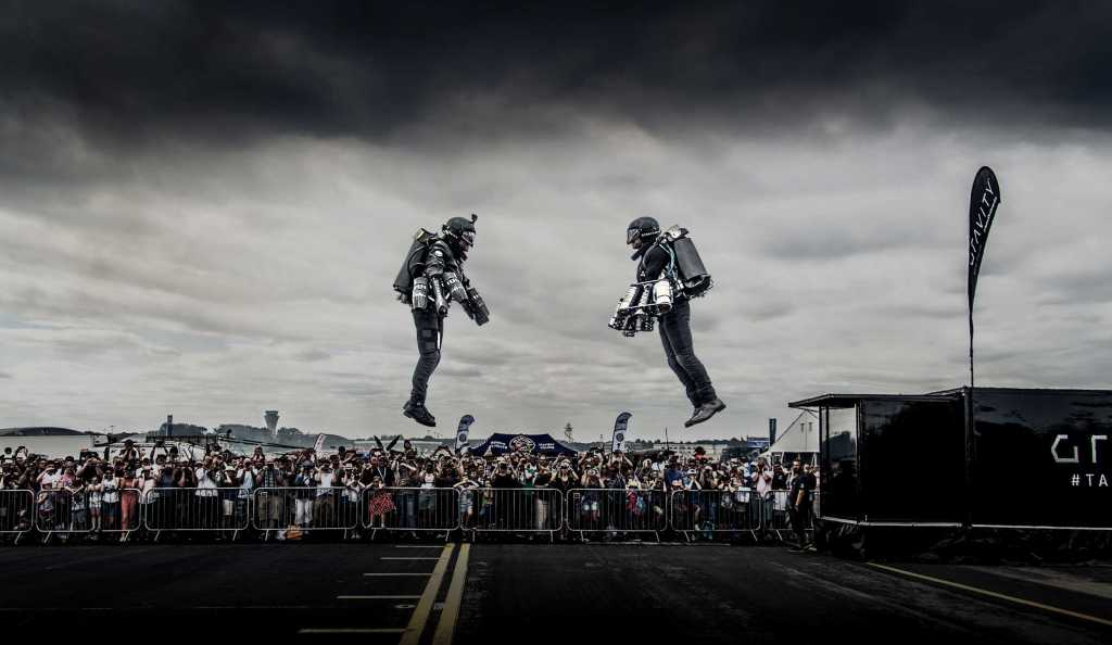 Gravity's Flying Suits
