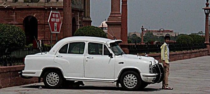 Government Car India - Picture courtesy Bertel Schmitt