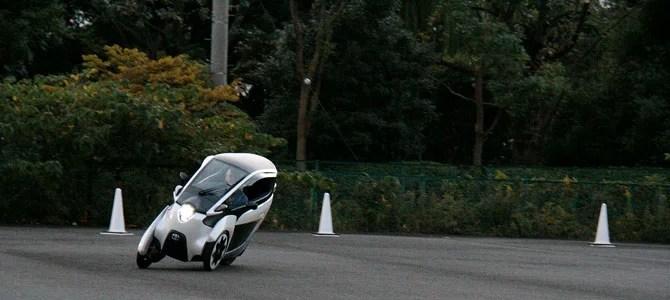 Toyota i-ROAD 4 - Picture courtesy Bertel Schmitt