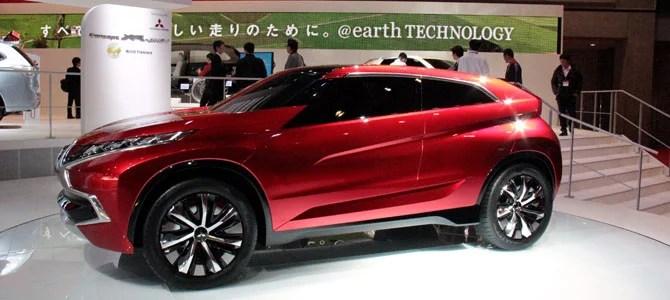 Mitsubishi Concept XR-PHEV - Picture courtesy Bertel Schmitt