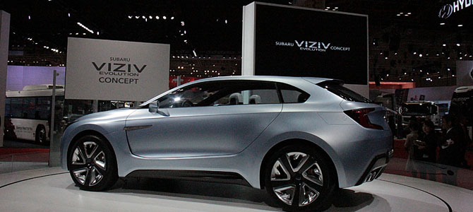 Subaru Viziv concept - Picture courtesy Bertel Schmitt