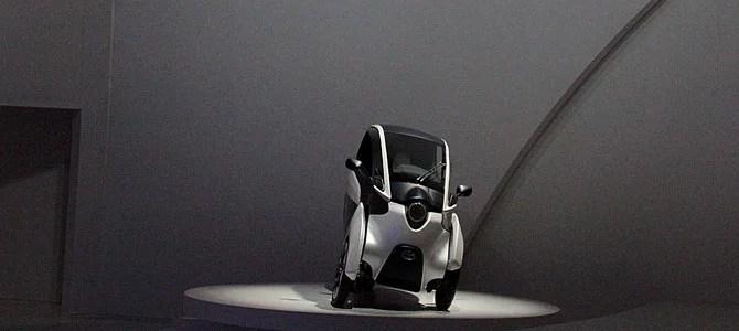 Toyota i-ROAD concept - Picture courtesy Bertel Schmitt