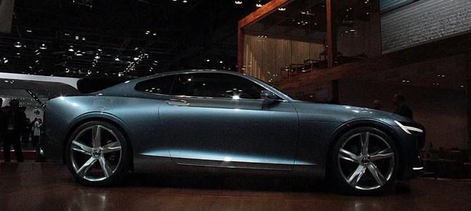 Volvo coupe concept - Picture courtesy Bertel Schmitt