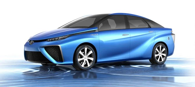 Toyota FCV Fuel Cell Vehicle