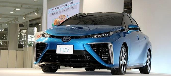 Toyota FCV - Picture courtesy Bertel Schmitt