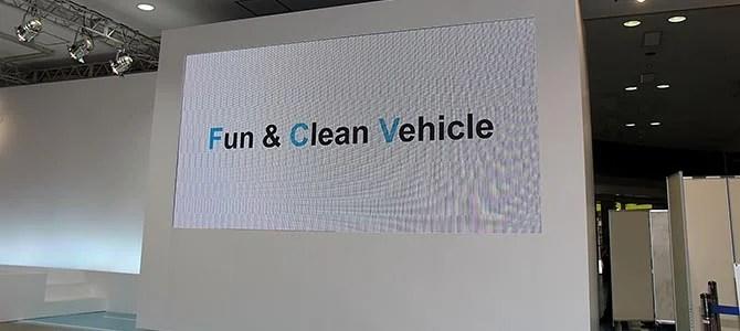 Toyota FCV reveal - Picture courtesy Bertel Schmitt