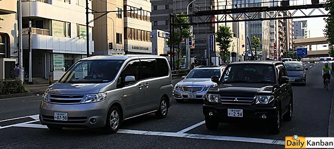 Mercedes is the 2nd largest import brand in Japan, and the roads are not all narrow