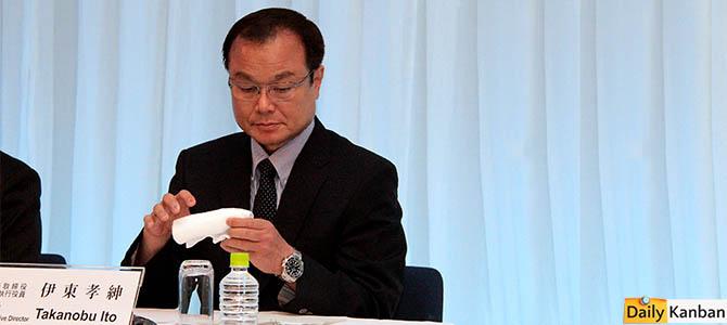 Got a tissue? Takanobu Ito